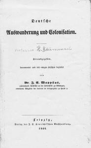 Deckblatt 1846