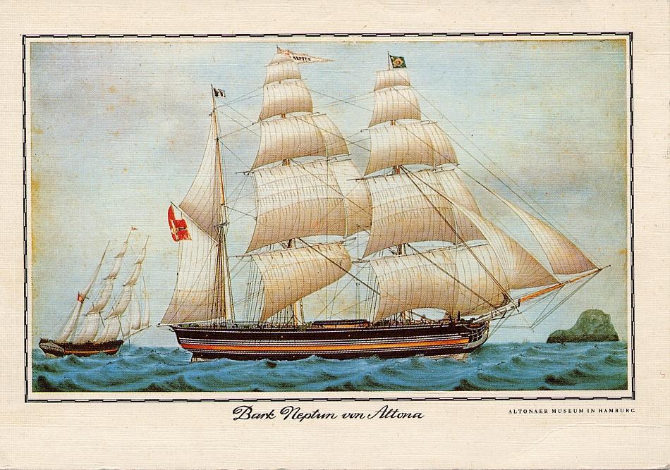 Bark Neptun v Altona