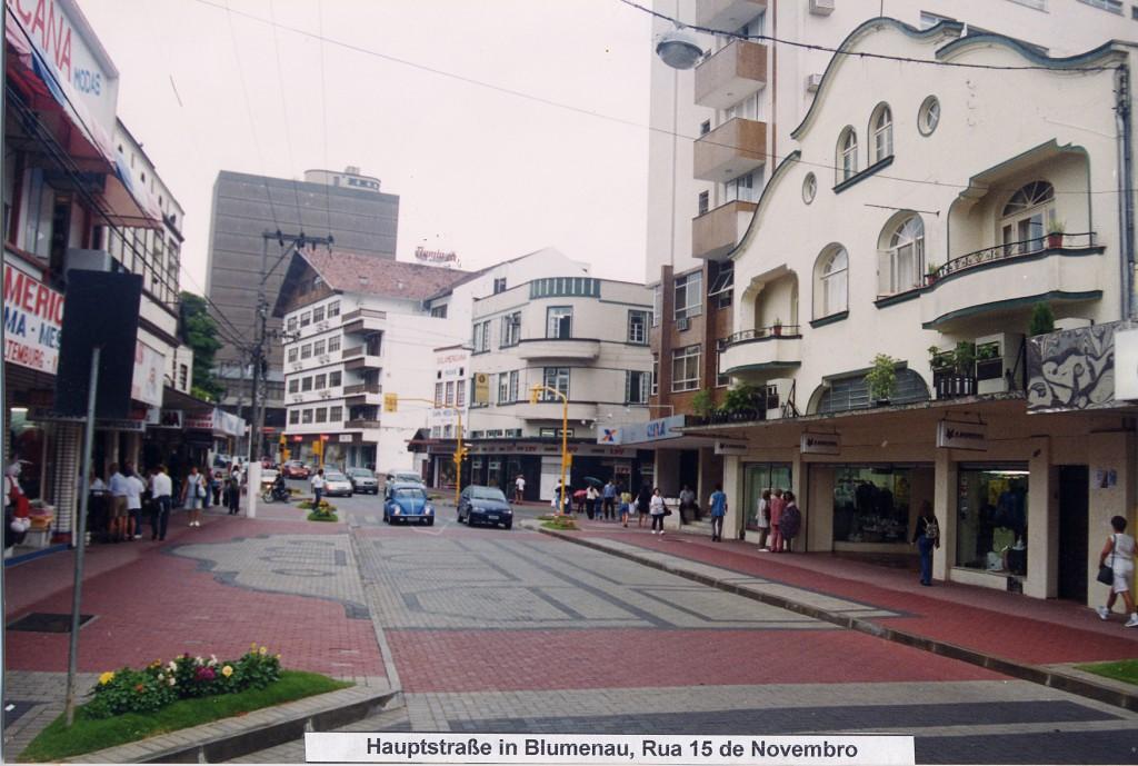 Hauptstraße um 1970
